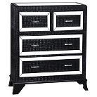 Glamour 4 Drawer Chest - Powell Company