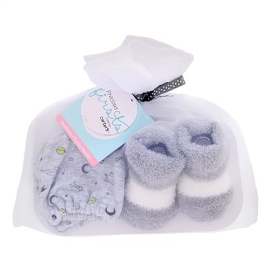 Just One You™ Made by Carter's® Baby Boys' Mittens/Bootie Set - Gray OSFM