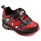 Toddler Boys' Spiderman Light Up Sneakers - Red