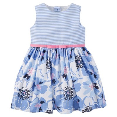 Just One Made Carter Toddler Girls Dress Blue