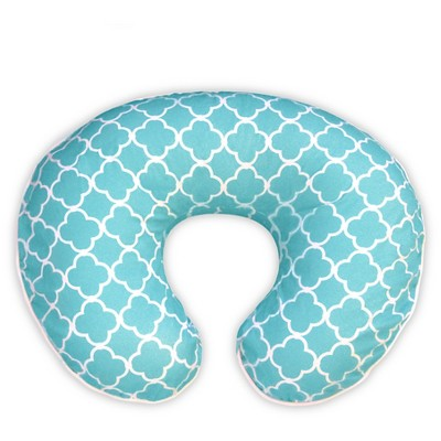 Original Boppy Pillow Slipcover - Classic Plus  Trellis Brights Turquoise