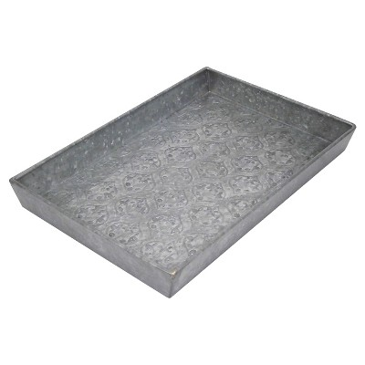 Galvanized Decorative Tray - Threshold™
