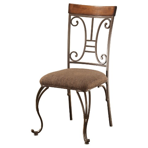 Plentywood Dining Upholstered Side Chair Set of Tar