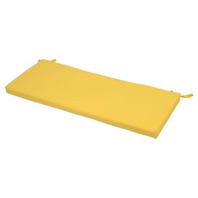 Outdoor Bench Cushion - Bright Yellow - Threshold™