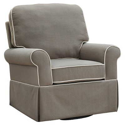 Baby Relax Remi Swivel Glider - Pewter