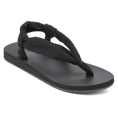 Women's Cecily Flip Flop Sandals - Black 9