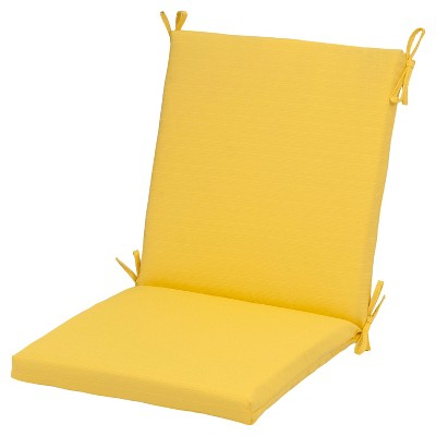 Outdoor Chair Cushion - Bright Yellow - Threshold™