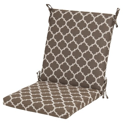 Threshold™ Outdoor Chair Cushion - Taupe Ogee