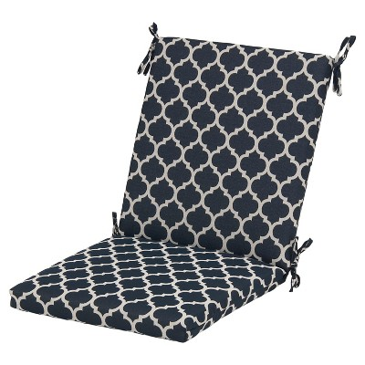 Threshold™ Outdoor Chair Cushion - Navy Ogee