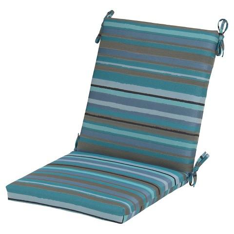Outdoor Multi Stripe Chair Cushion Threshold Target