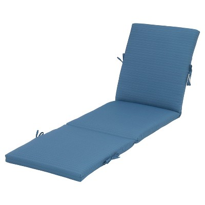 Outdoor Chaise Cushion - Blue - Threshold™