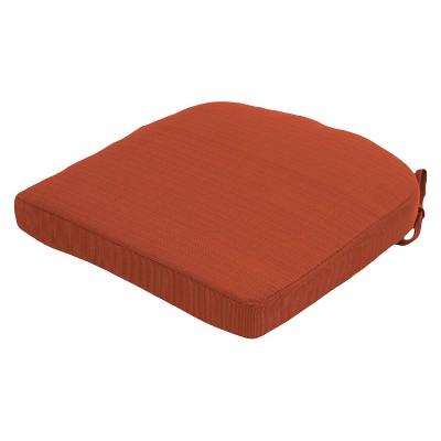 TH Round Back Seat Cushion Orange