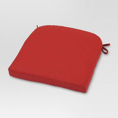 Outdoor Round Back Seat Cushion Threshold™ Tar