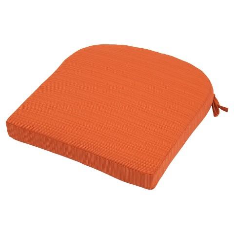 outdoor round back seat cushion threshold target