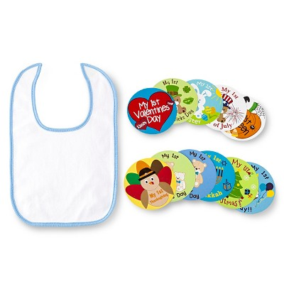 Lovespun Bib Set White