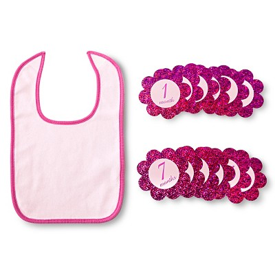 Lovespun Bib Set Pink