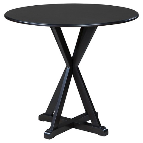 berlmine round dining room counter table wood es target