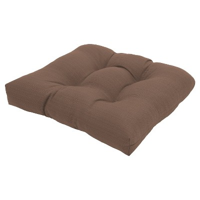 Threshold™ Outdoor Tufted Seat Cushion - Taupe