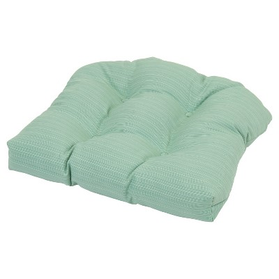 Threshold™ Outdoor Tufted Seat Cushion - Seafoam