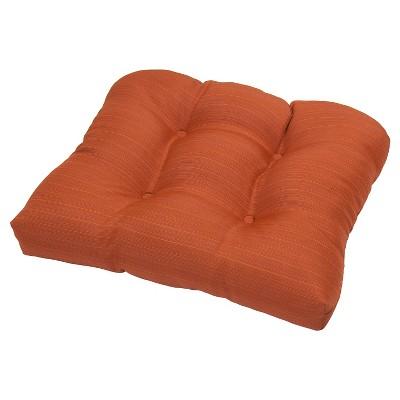 Threshold™ Outdoor Tufted Seat Cushion - Orange