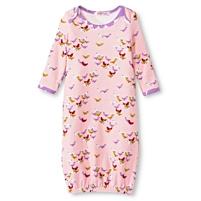 Baby Nay Vintage Flocks Baby Set - Pink  0-3 M