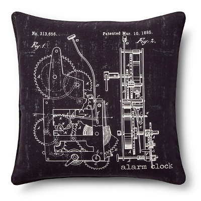 Chalkboard Throw Pillow - Grey (20x20) - The Industrial Shop™