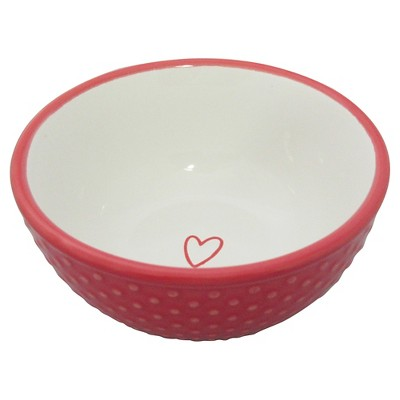 Red Polka-Dot Mini Bowl