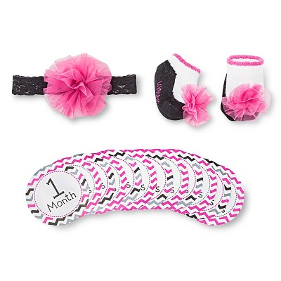 Infant Accessories Set Lovespun Pink 3 Number Of Pieces In Set