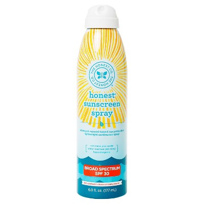 Honest Company Sunscreen Spray 6oz