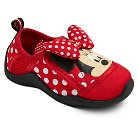 Toddler Girls' Minnie Mouse Water Shoes - Red