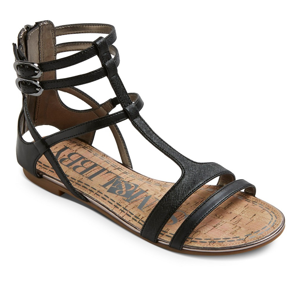 Women S Sam Amp Libby Hadlee Gladiator Sandals Black 7 5