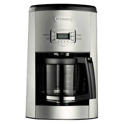 Delonghi 10 Cup Thermal Carafe Drip Coffee Maker- Black