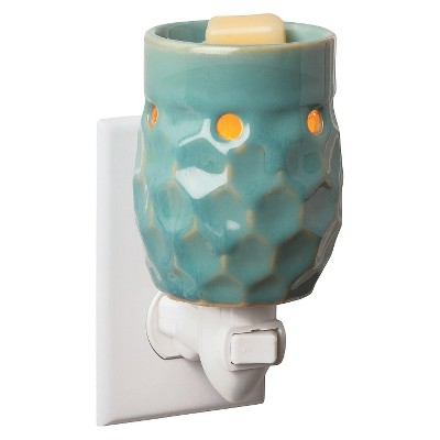 Honeycomb Turquoise Plug-in Fragrance Warmer