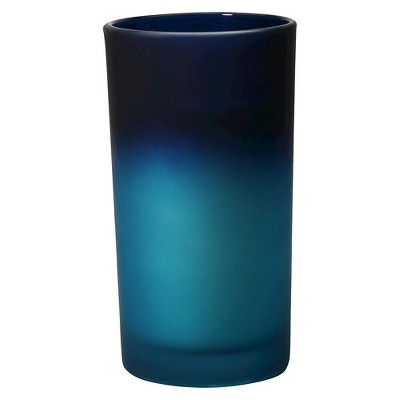 Threshold™ Large Ombre Candle Blue
