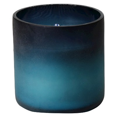Threshold™ Medium Ombre Candle Blue