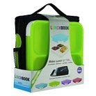 SmartPlanet Green Ultra Thin Lunchbook with Insulated Bag and spork