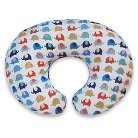 Boppy Baby Elephants Pattern Nursing Pillow Slipcover Multicolored
