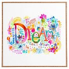"DENY Designs Framed Wall Poster Print - Multi-Colored (10X12X13"")"