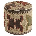 Patterned Pouf Natural - Signature Design by Ashley