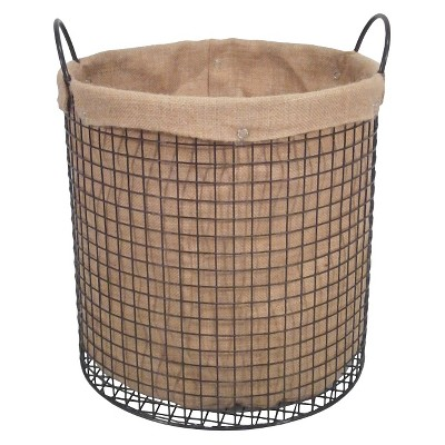 Burlap Garden Basket - Threshold™
