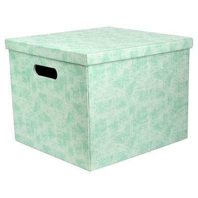 Large Media Storage Box - Turquoise - Room Essentials™