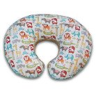 Original Boppy Pillow Slipcover - Plush with Print Mod Jungle