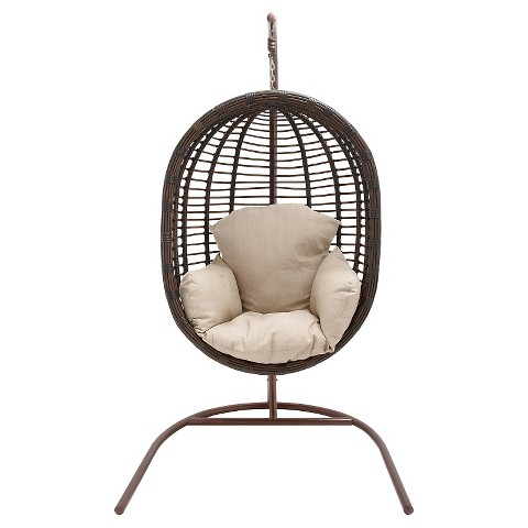 hanover outdoor wicker pod swing chair target