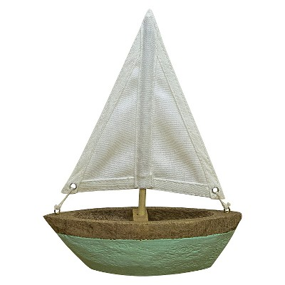 Wooden Canvas Sailboat - Threshold™