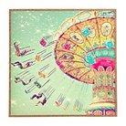 """DENY Designs Framed Wall Poster Print - Lite Sky (10X12X13"""")"""