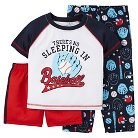 Just One You™ Made by Carter's® Toddler Boys' 3-Piece Baseball Pajama Set Navy