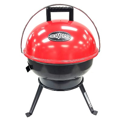 "Kingsford 14"" Charcoal Grill w/ Hinge - Red (TG2021301)"