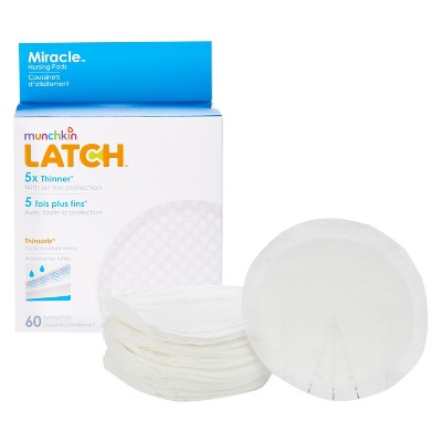 Munchkin LATCH™ Miracle™ Nursing Pads, 60 Pack