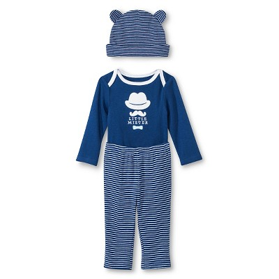 Circo™ Baby Boys' 3-Piece Set - Navy 0-3 M