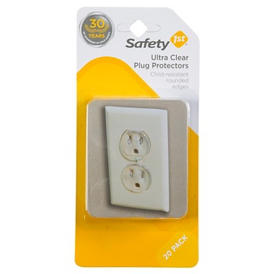 Safety 1st Plug Protectors Ultra Clear - 18 Pack